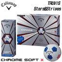 キャロウェイ クロムソフト X トゥルービス スターズ&ストライプス 星条旗 ゴルフボール 1ダース(12球入り) 日本正規…