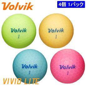 ボルビック ビビッド ライト ボール 4球入り Volvik VIVID LITE BALL