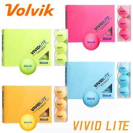ボルビック ビビッド ライト ボール 1ダース(12球入り) Volvik VIVID LITE BALL