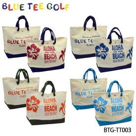 【2019モデル】ブルーティーゴルフ BTG-TT003 アロハ オン ザ ビーチ 大型トートバッグ BLUE TEE GOLF ALOHA ON THE BEACH