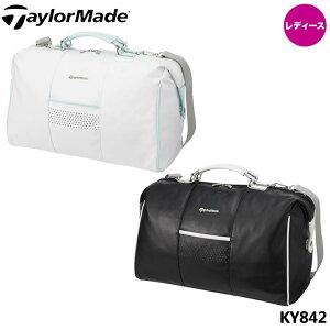 【レディース】【2020モデル】テーラーメイド KY842 ソフトシンセティックレザー ボストンバッグ シューズインポケット付き Taylormade 10p