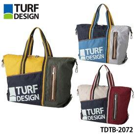 【2020モデル】ターフデザイン TDTB-2072 トートバッグ ボストンバッグ TURF DESIGN Tote Bag