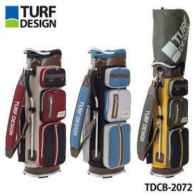 【2020モデル】ターフデザイン TDCB-2072 キャディバッグ 9.5型 2.7kg 軽量 47インチ対応 TURF DESIGN Caddie Bag