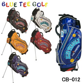 【2019モデル】ブルーティーゴルフ CB-012 エナメル スタンド キャディバッグ 9型 4.6kg 46インチ BLUE TEE GOLF