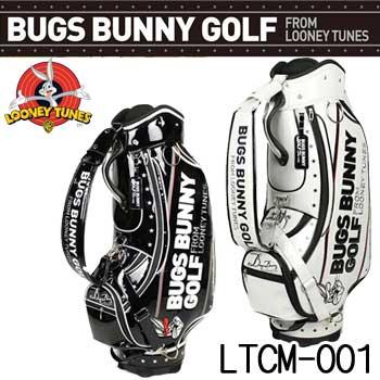 【2017モデル】 ルーニーテューンズ LTCM-001 バッグスバニーゴルフ キャディバッグ 9型 47インチ対応 LOONEY TUNES BUGS BUNNY GOLF