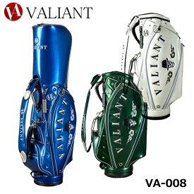 【2021モデル】シェリフの姉妹ブランド!ヴァリアント VA-008 Hat Skull カート型 キャディバッグ 9.5型 3.9kg VALIANT SKULL COLLECTION バリアント エナメル スカル 髑髏 数量限定 即納