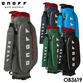 【2019モデル】オノフ OB3619 カート型 キャディバッグ 9型 2.9kg 47インチ対応 ONOFF