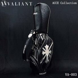 シェリフの姉妹ブランド!ヴァリアント VA-003 アクセコレクション キャディバッグ ブラック 9.5型 3.8kg VALIANT ACCE Collection