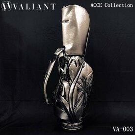 シェリフの姉妹ブランド!ヴァリアント VA-003 アクセコレクション キャディバッグ メタルブラウン 9.5型 3.8kg VALIANT ACCE Collection