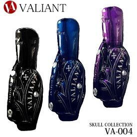 シェリフの姉妹ブランド!ヴァリアント VA-004 スカルコレクション キャディバッグ 9.5型 3.9kg VALIANT STANDARD SKULL COLLECTION
