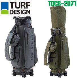 【2020モデル】ターフデザイン TDCB-2071 4輪ローラー キャディバッグ 9.5型 TURF DESIGN