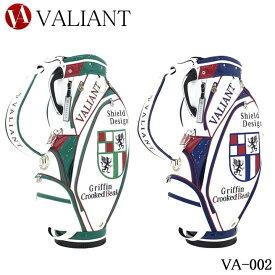 シェリフの姉妹ブランド!ヴァリアント VA-002 シールドコレクション 2点式 ヨーロピアンおしゃれキャディバッグ 9.5型 3.8kg VALIANT SHIELD Collection