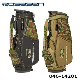 ロサーセン 046-14201 スタンド型 コーデュラ迷彩キャディバッグ 9型 47インチ対応 約2.85kg ゴルフ Rosasen 2021
