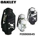 【2021モデル】オークリー FOS900645 スカル ゴルフバッグ 15.0 キャディバッグ 9.5型 4.3kg SKULL GOLF BAG OAKLEY 20p