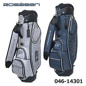 ロサーセン 046-14301 カート型 キャディバッグ 9型 47インチ対応 3.1kg ゴルフ Rosasen 2021