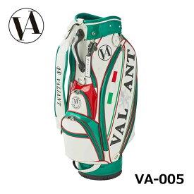 【5月17日発売】シェリフの姉妹ブランド!ヴァリアント VA-005 ITALY カート型キャディバッグ 2点式 ヨーロピアンおしゃれ 9.5型 3.9kg VALIANT