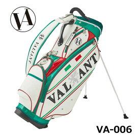シェリフの姉妹ブランド!ヴァリアント VA-006 ITALY スタンド型キャディバッグ 2点式 ヨーロピアンおしゃれ 9型 3.5kg VALIANT