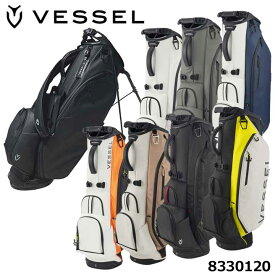 【2021モデル】ベゼル 8530120 プレイヤー3.0スタンド シングルストラップ キャディバッグ 8.5型 約3.4Kg VESSEL Player Stand Bag