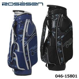 【2021モデル】ロサーセン 046-15801 カート型 カモテガ キャディバッグ 9型 47インチ対応 3.5kg ゴルフ Rosasen