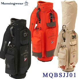 【2021FWモデル】マンシングウェア MQBSJJ01 キャディバッグ 9型 47インチ対応 Munsingwear 10p