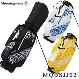 【2021FWモデル】マンシングウェア MQBSJJ02 スタンド キャディバッグ 9型 47インチ対応 Munsingwear 10p