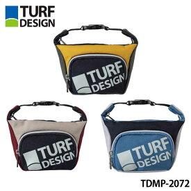 【2020モデル】ターフデザイン TDMP-2072 ミニポーチ ラウンドトート TURF DESIGN Mini Pouch