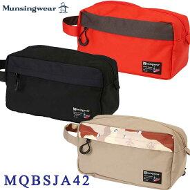 【2021FWモデル】マンシングウェア MQBSJA42 ポーチ Munsingwear 10p