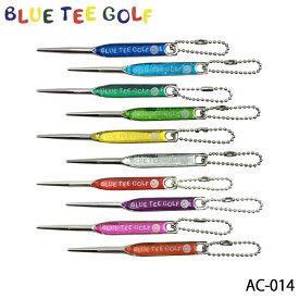 【ネコポス可能】【2019モデル】ブルーティーゴルフ AC-014 ホログラムグリーンフォーク BLUE TEE GOLF
