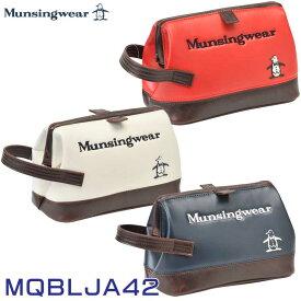 【2021継続モデル】マンシングウェア MQBLJA42 ポーチ Munsingwear