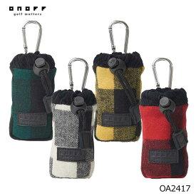 オノフ OA2417 ゴルフボールケース ONOFF