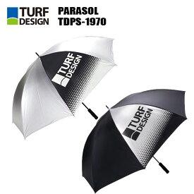 ターフデザイン TDPS-1970 超軽量パラソル 専用袋付き ゴルフ カサ アンブレラ 傘 梅雨対策 暑さ対策 TURFDESIGN PARASOL