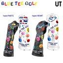 限定モデル ブルーティー ゴルフ リミテッド プロダクション ユーティリティ ヘッドカバー BLUE TEE GOLF