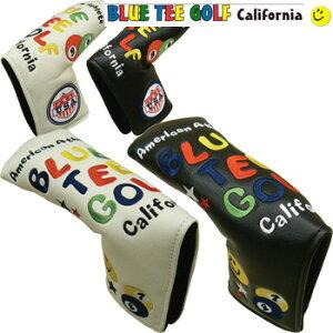 ブルーティーゴルフ HC-001 スマイル&ピンボール マジックテープ式 ピン型 パターカバー ヘッドカバー BLUE TEE GOLF スマイルピンボール