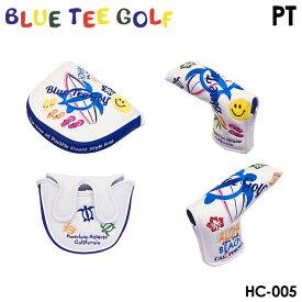 【数量限定】ブルーティーゴルフ HC-005 アロハ オン ザ ビーチ ピン/マレットタイプ パターカバー ヘッドカバー BLUE TEE GOLF