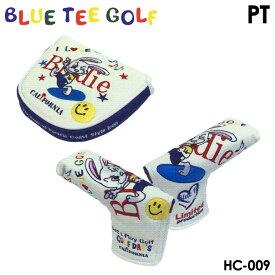 【数量限定】ブルーティーゴルフ HC-009 キャラクターシリーズ ラビット ブレード/マレット パターカバー ヘッドカバー BLUE TEE GOLF