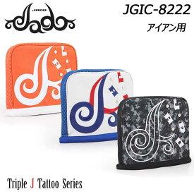 【2019モデル】ジャド JGIC-8222 Triple J Tattooシリーズ アイアン用 ヘッドカバー JADO Iron Headcover
