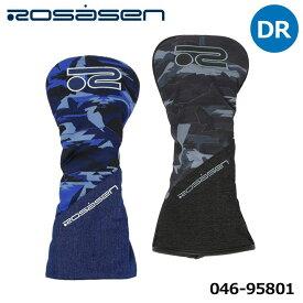【2021モデル】ロサーセン 046-95801 カモテガ ドライバー用 ヘッドカバー Rosasen