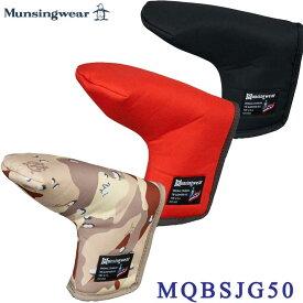 【2021FWモデル】マンシングウェア MQBSJG50 パター用 ヘッドカバー Munsingwear 10p