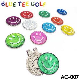【送料無料(代引不可)】ブルーティーゴルフ AC-007 ホログラム クリップ&マーカー BLUE TEE GOLF