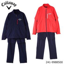 キャロウェイ 241-9988500 セットアップ レインウェア 上下セット メンズ ジャケット パンツ callaway