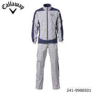 キャロウェイ 241-9988501 セットアップ レインウェア 上下セット メンズ ジャケット パンツ callaway