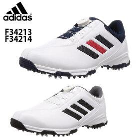 アディダスゴルフ シューズ トラクションライトボア F34213 F34214 メンズゴルフスパイクシューズ adidas 2019