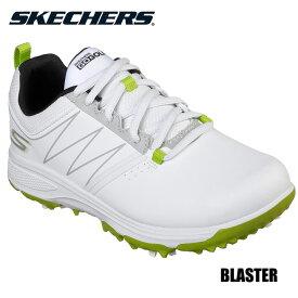 【ジュニア】スケッチャーズ 99981 ブラスター ゴルフシューズ ホワイト×ライム SKECHERS BLASTER