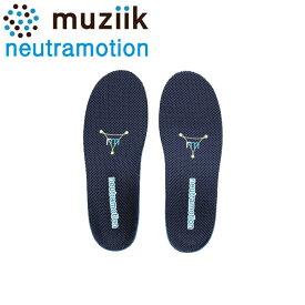 ムジーク MZIS-019 ニュートラモーション スポーツインソール 中敷き ゴルフ muziik neutramotion