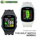 【正規販売店】グリーンオン ザ ゴルフウォッチ NORM II ノルム2 腕時計型 GPS距離計測器 ゴルフナビ Green On THE GO…