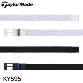 テーラーメイド KY595 ストレッチメッシュ ベルト TaylorMade