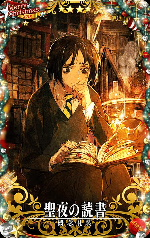 Fate/Grand Order Arcade (FGOアーケード)/【クリスマス2018限定デザイン】【概念礼装】No.388 聖夜の読書 ★4