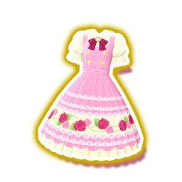 kira和之前☆張/PCH2-43條紋玫瑰連衣裙R