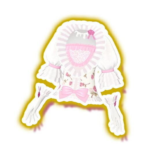 キラッとプリ☆チャン/PCH2-61 ホワイトローズトップス N