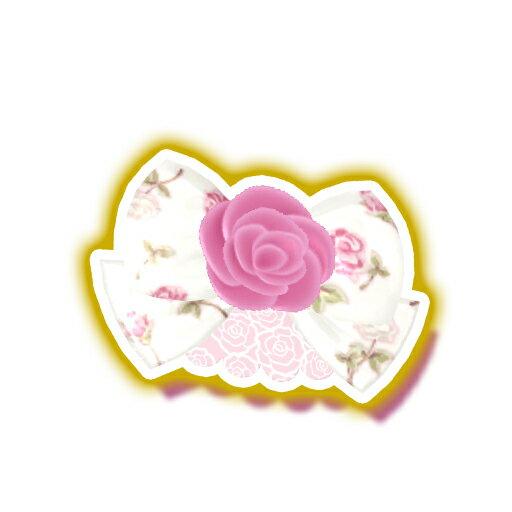 キラッとプリ☆チャン/PCH2-64 ホワイトローズヘアアクセ N